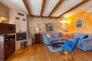 Living room in Villa Vicina