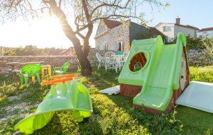 Children playgarden in Villa Vicina