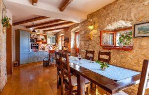 Traditional stone villa Vicina in Milna on Island of Brac