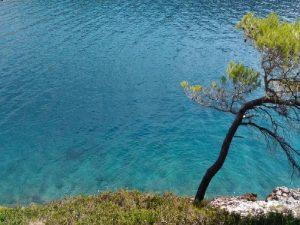 Beautiful beach on Island of Brac