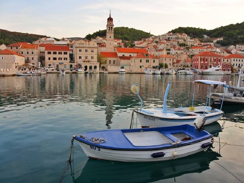 Island of Brac in Croatia
