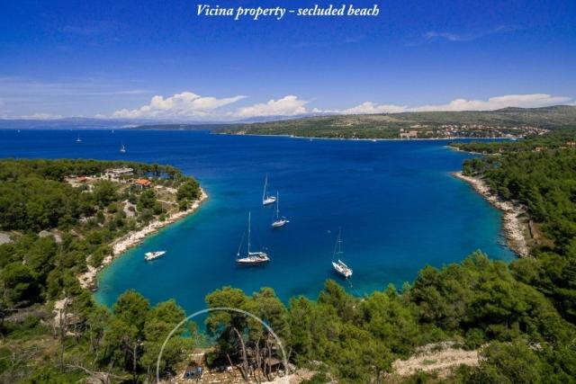 Private beach of Villa Vicina